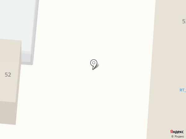 Гараж 52 на карте Нижнекамска