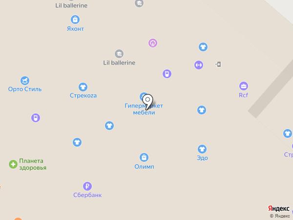 Планета здоровья на карте Нижнекамска