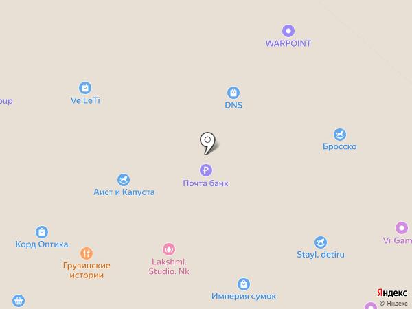 Лапоток на карте Нижнекамска