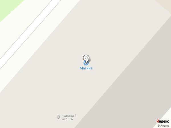 Магнит на карте Нижнекамска