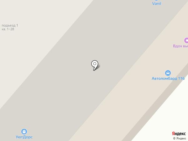 Алиф на карте Нижнекамска