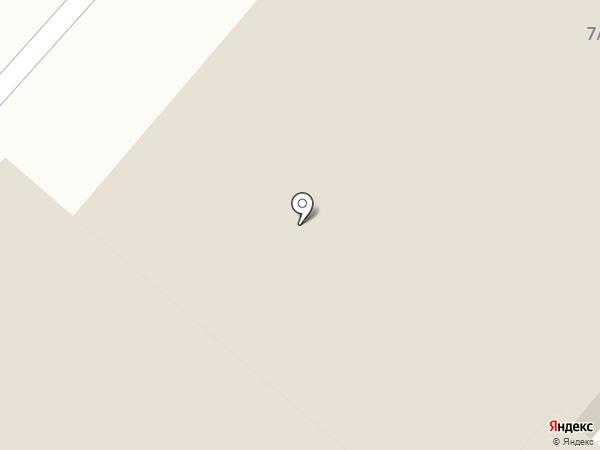 Кристалл на карте Нижнекамска