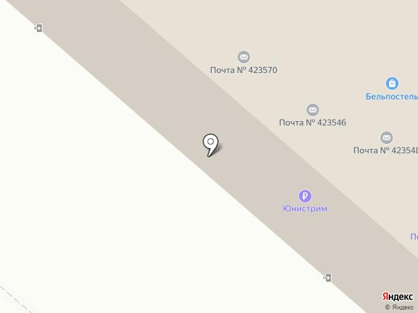 Олимп на карте Нижнекамска