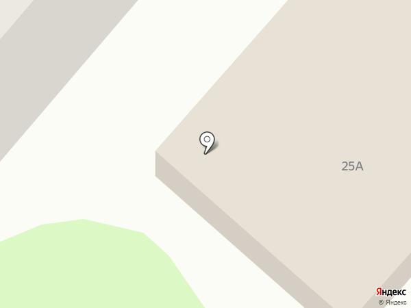 Алжан на карте Нижнекамска