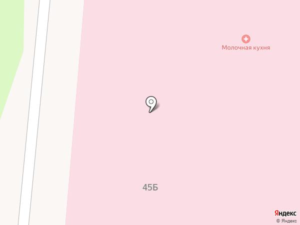 Молочная кухня на карте Нижнекамска