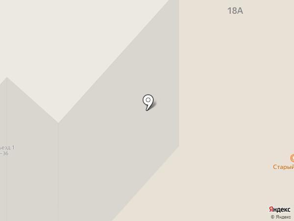 Старый Амбар на карте Нижнекамска