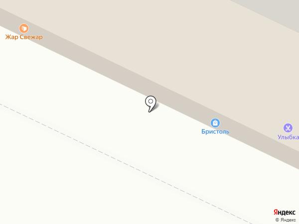 Парикмахерская на карте Нижнекамска
