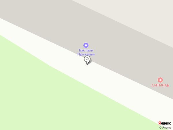 Бастион Прикамья на карте Нижнекамска