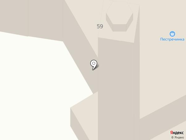 Центральная соборная мечеть на карте Нижнекамска