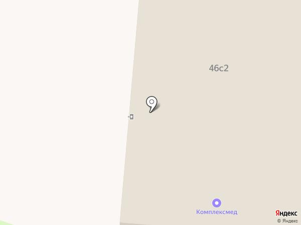 Комплексмед на карте Нижнекамска