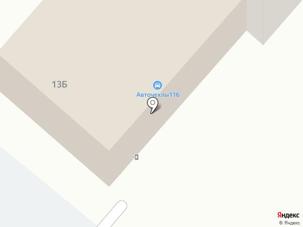 Автопрестиж на карте Нижнекамска