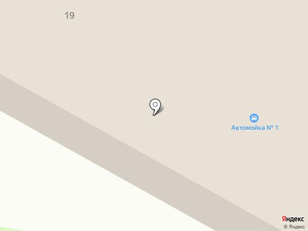 Грузовая автомойка на карте Нижнекамска