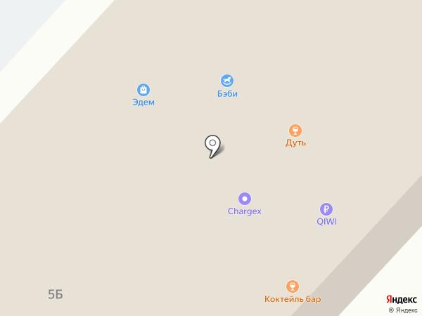 Мил-Мар на карте Нижнекамска