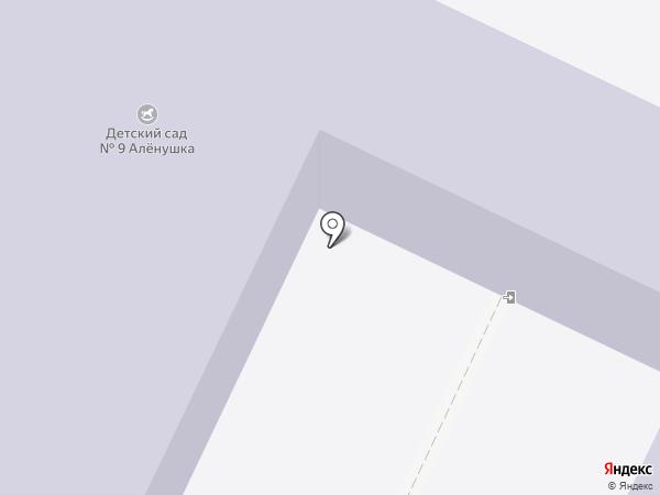 Детский сад №9, Аленушка на карте Нижнекамска