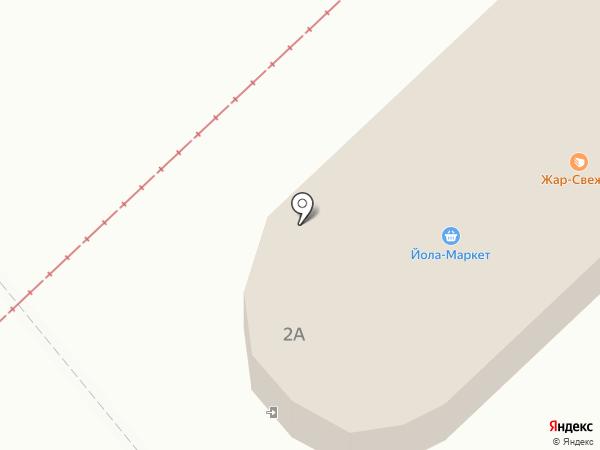 Ладушка на карте Нижнекамска
