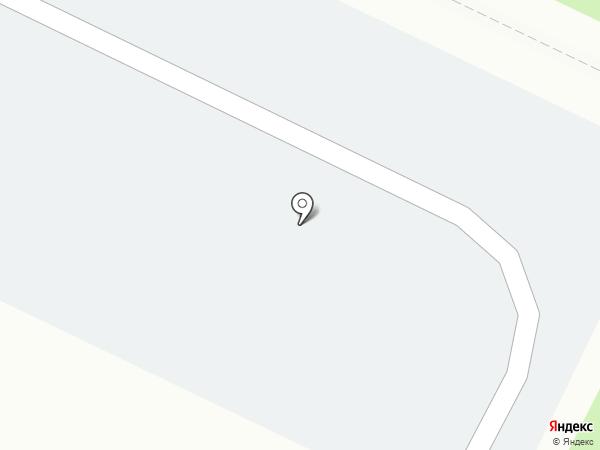 Автостоянка на площади Лемаева на карте Нижнекамска