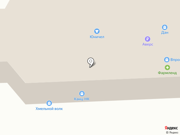 Банкомат, Банк Аверс на карте Нижнекамска