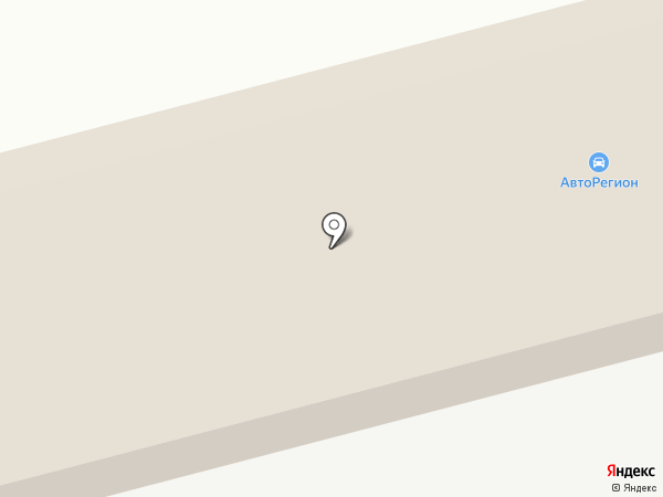 АвтоРегион на карте Нижнекамска