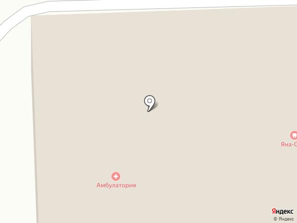Яна-стом на карте Красного Ключа