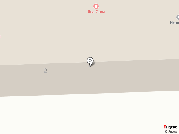 Красноключинская врачебная амбулатория на карте Красного Ключа