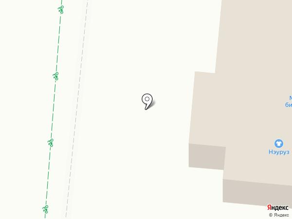 Нэуруз на карте Нижнекамска