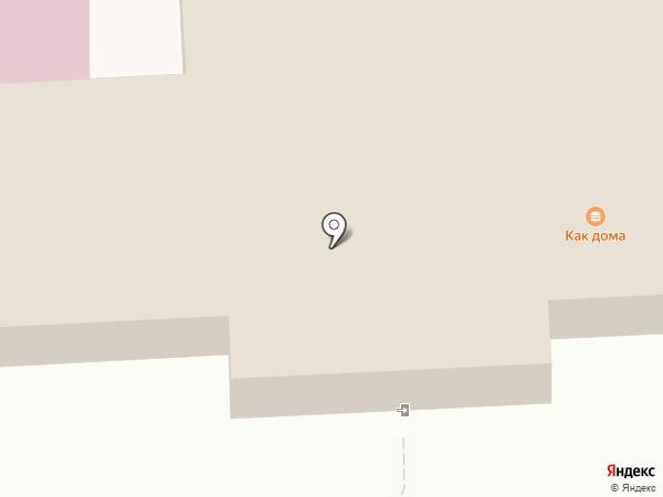 Как дома на карте Нижнекамска