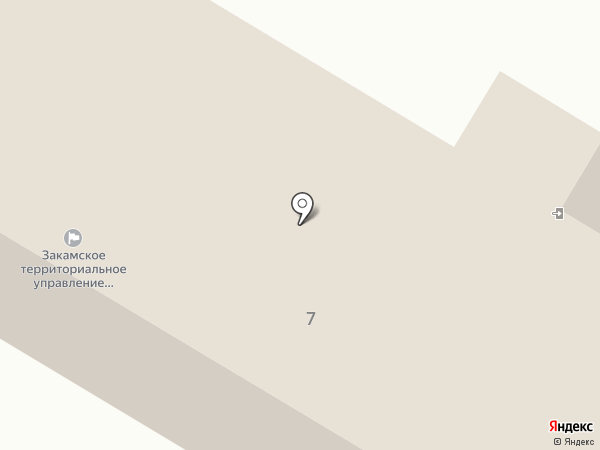 Межрайонный отдел по охране, федеральному государственному надзору и регулированию использования объектов животного мира и среды их обитания на карте Красного Ключа