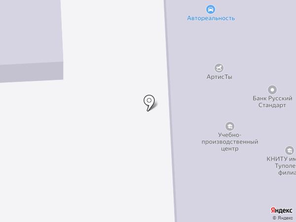 НИИТТ, Нижнекамский институт информационных технологий и телекоммуникаций на карте Нижнекамска