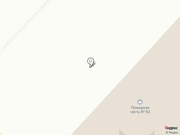 Пожарная часть №63 на карте Нижнекамска