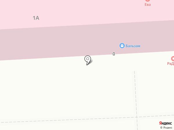Бальзам на карте Нижнекамска