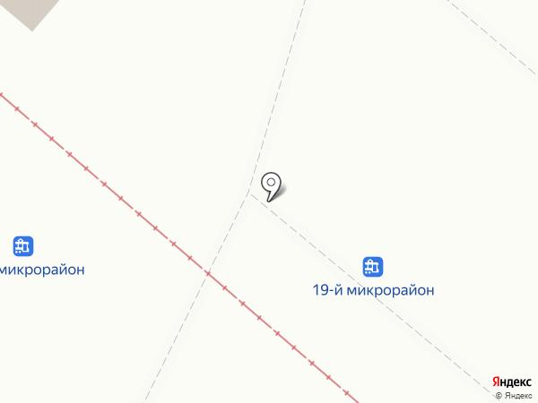 Киоск фастфудной продукции на карте Нижнекамска