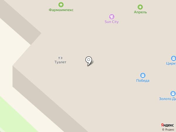 Mustang на карте Нижнекамска