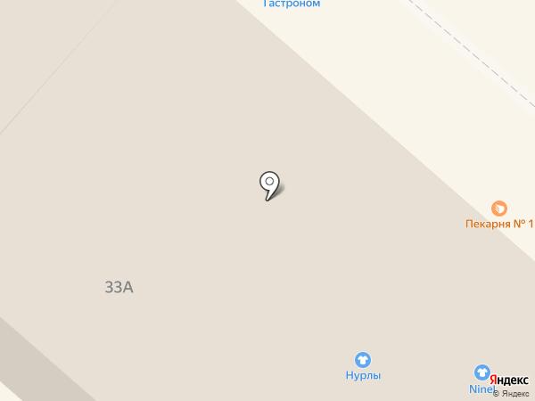 Дом книги на карте Нижнекамска