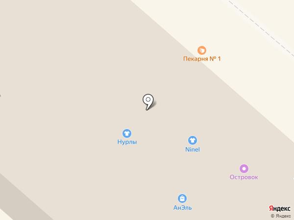 Пекарня №1 на карте Нижнекамска