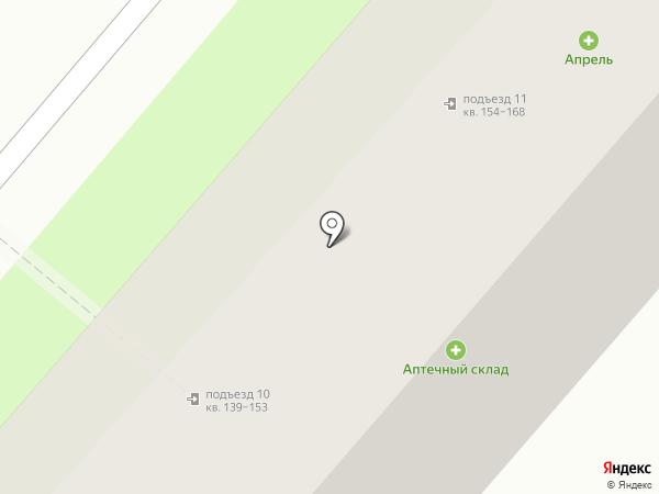 Родник на карте Нижнекамска
