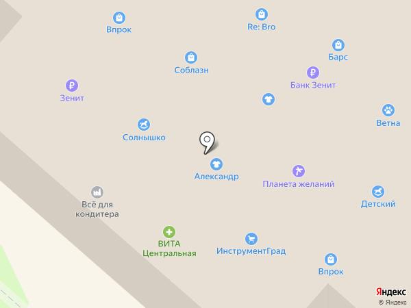 ИнструментГРАД на карте Нижнекамска