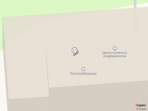 Территориальный отдел Управления Федеральной службы по надзору в сфере защиты прав потребителей и благополучия человека по Республике Татарстан в г. Нижнекамске на карте Нижнекамска