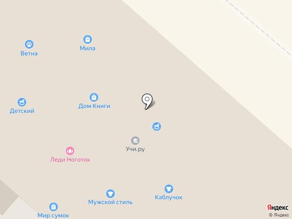 Пинта на карте Нижнекамска