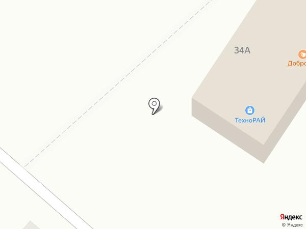 Технорай на карте Нижнекамска