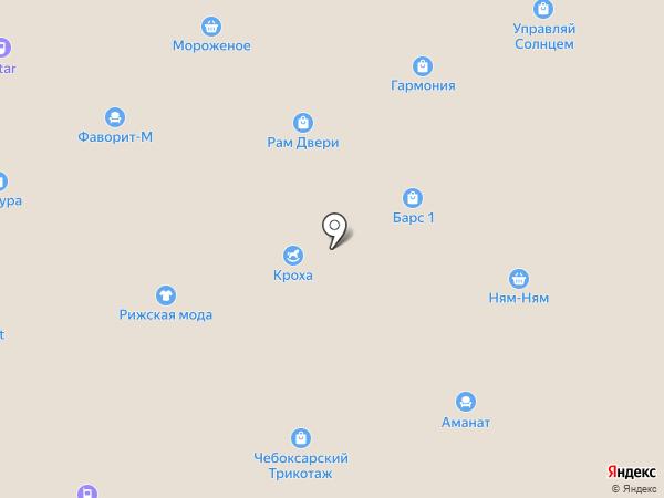 Ваши теплицы на карте Нижнекамска