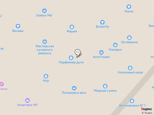 Банкомат, Банк ВТБ24, ПАО на карте Нижнекамска