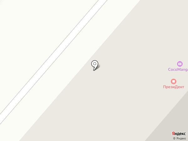 Бархат на карте Нижнекамска