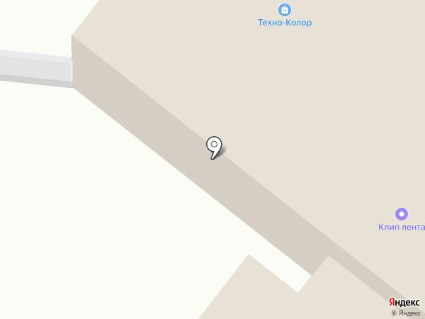 Техно-Колор на карте Красного Ключа