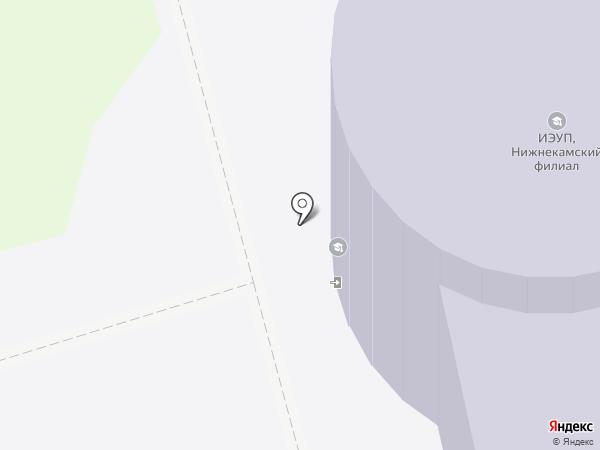 Казанский инновационный университет им. В.Г. Тимирясова (ИЭУП) на карте Нижнекамска