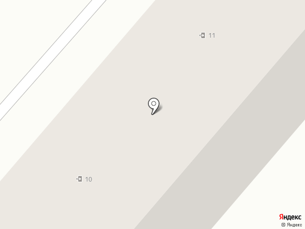 Гайдаровец на карте Нижнекамска