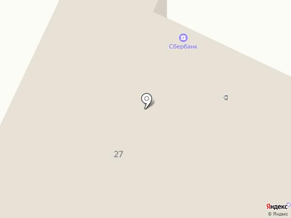 Зеленый дом на карте Нижнекамска