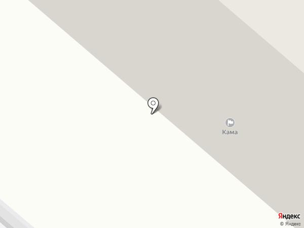 ЖКХ Кама на карте Нижнекамска