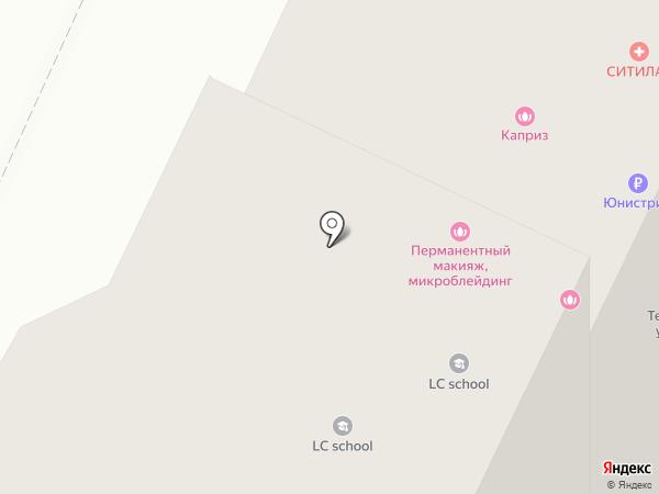 Бар на углу на карте Нижнекамска