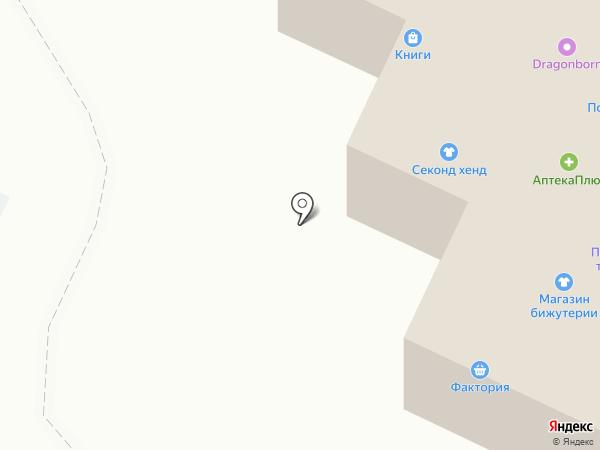 Унция на карте Нижнекамска