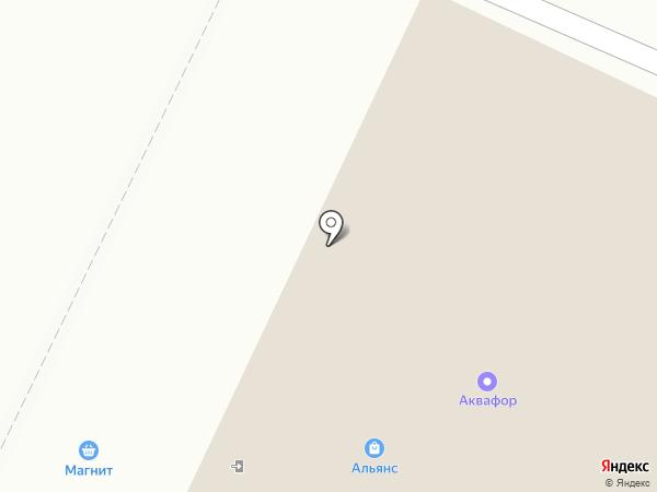 Вита на карте Нижнекамска